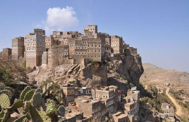 Al-Hajjarah 12th century important fortification yemen