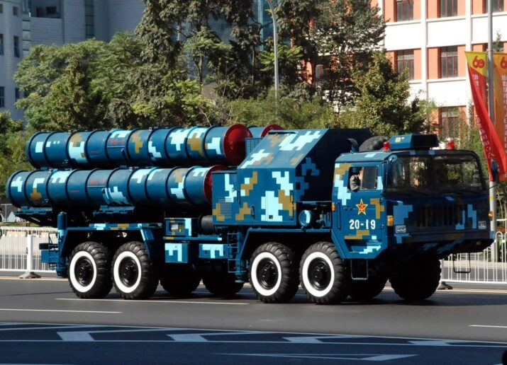 Chinese HQ-9 launcher equivaLent s300