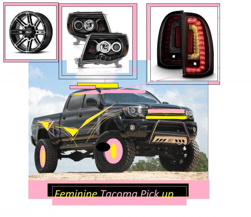 Feminine Tacoma PicK up