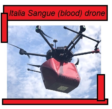 Italia blood drone sangue