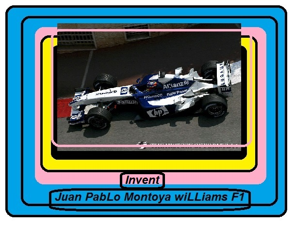 Juan PabLo Montoya WiLLiams F1