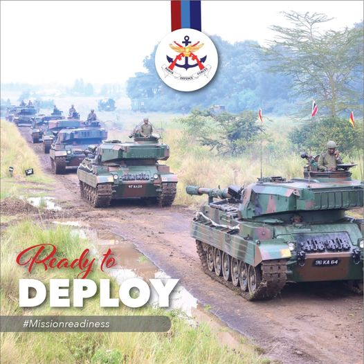 Kenya Army ready to depLoy