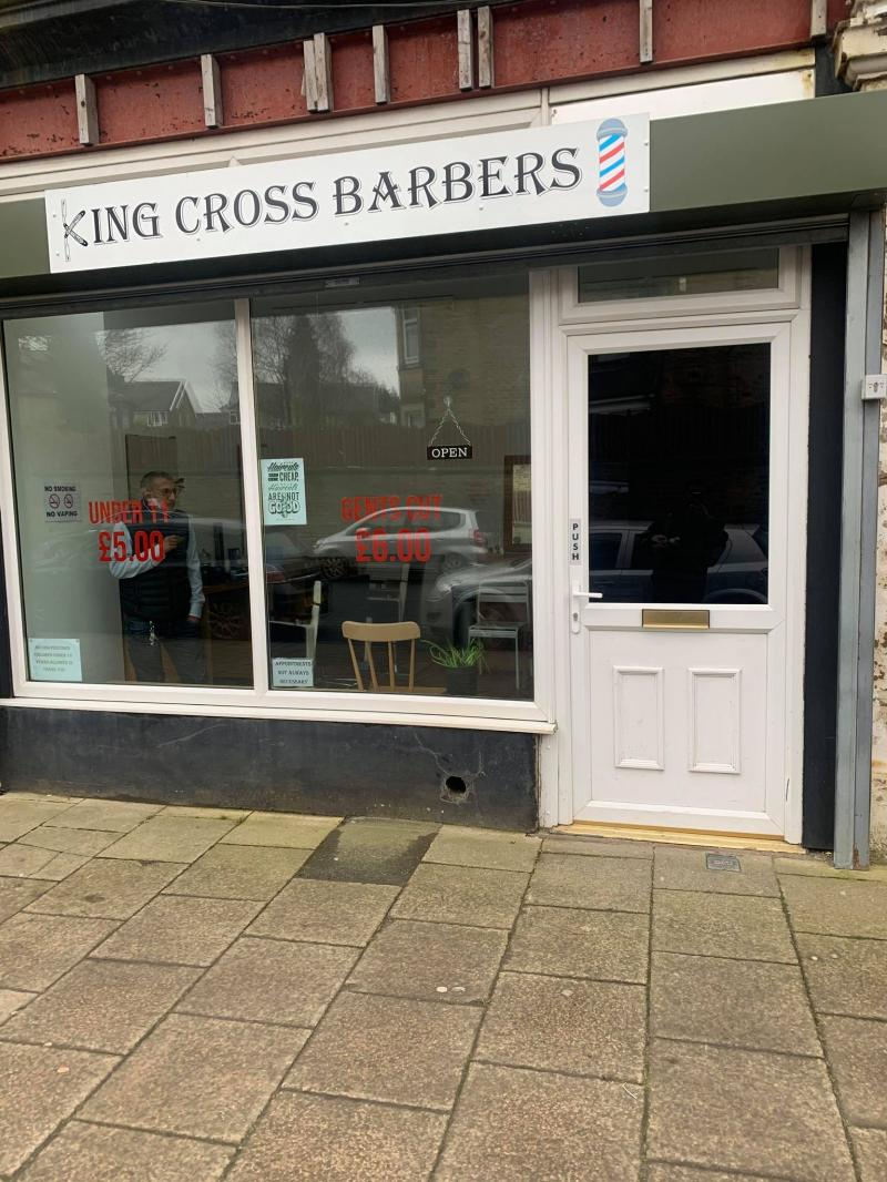 Kings cross barber shop for saLe 45k