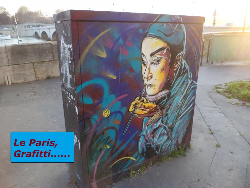 Le paris grafitti