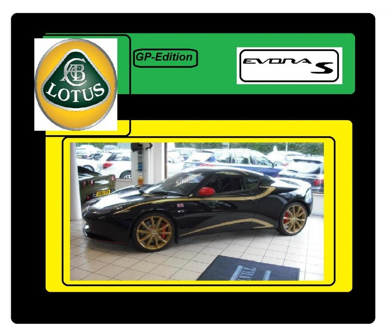 Lotus evora s gp edition 3