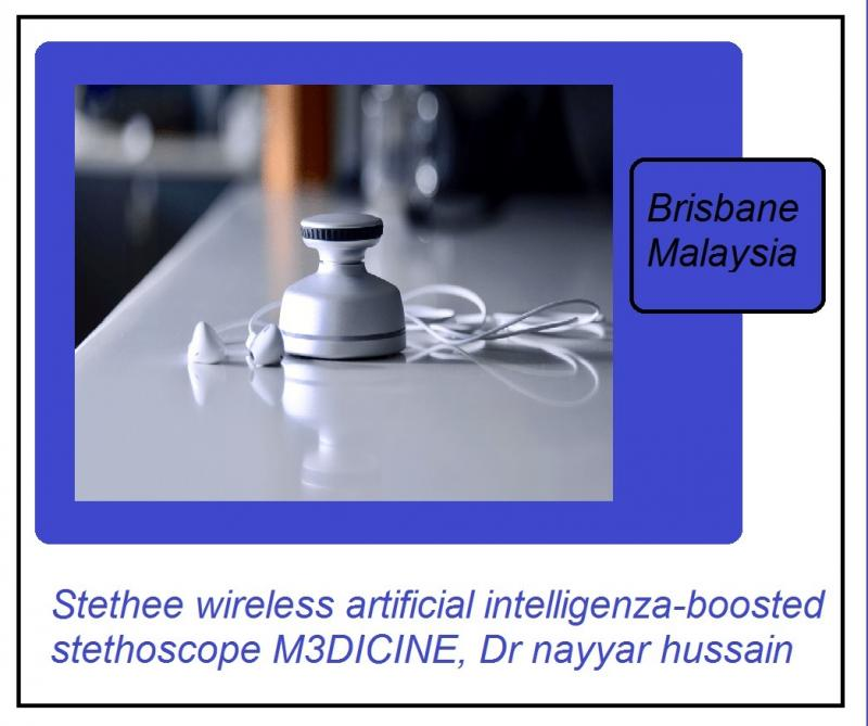 M3dicine artificial inteligenza stethoscope