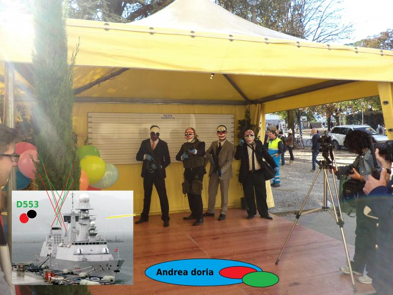 Mafia, cat and mouse d553 naval andrea italia