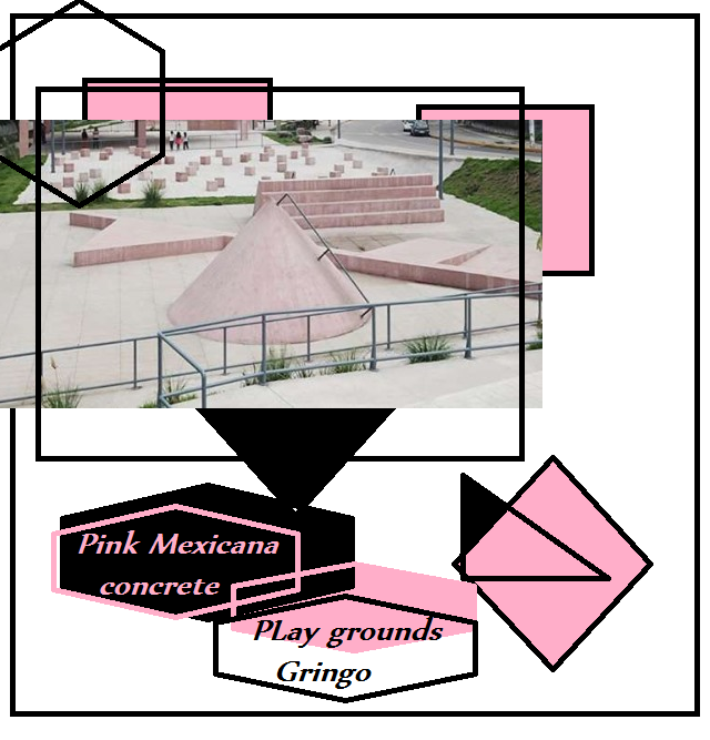 Pink mexican concrete PLayground gringo