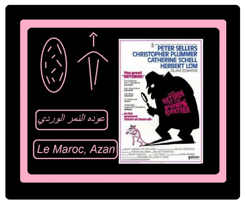 Return of the pink panther le maroc azan