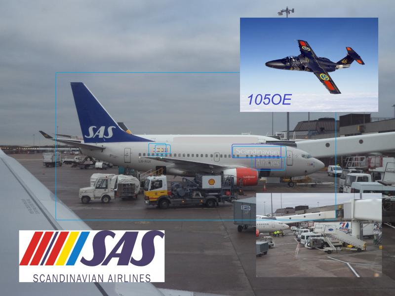Scandanavian Airlines services sas