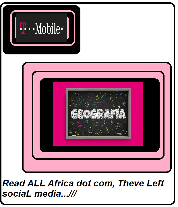 T MobiLe BLack Pink Geogrfhia read ALL Africa dot com theve Left sociaL Media