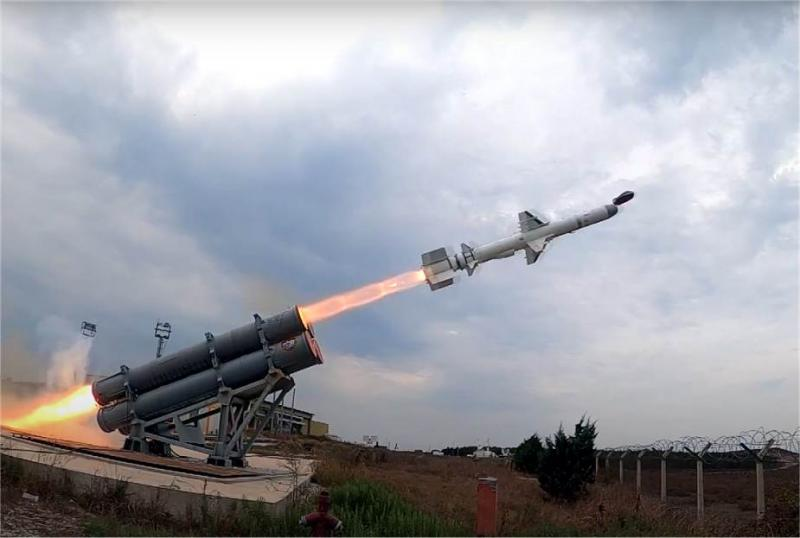 Turkish made ATMACA anti-ship cruise missile