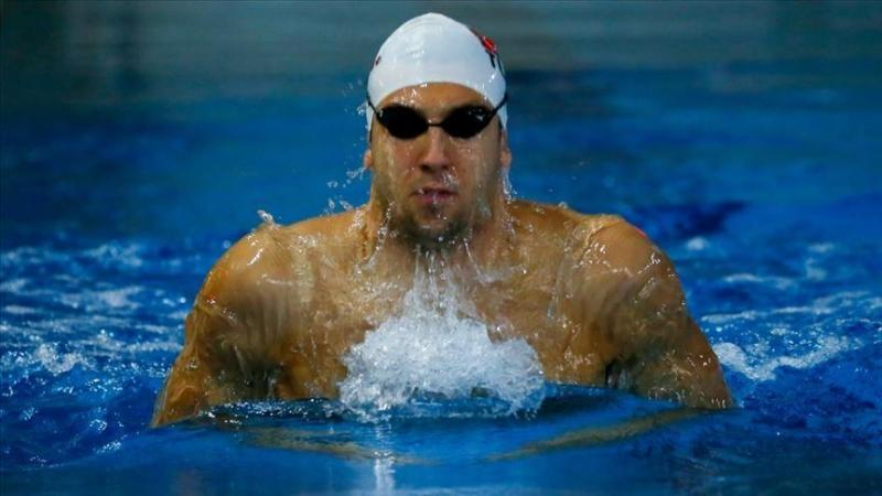 Turkish swimmer Emre Sakci 50 m record