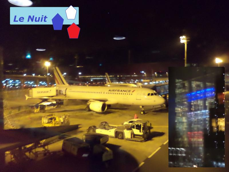 air france night le nuit