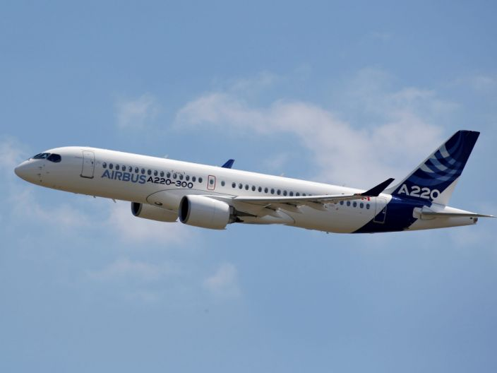 airbus A220 300 bombardier cseries