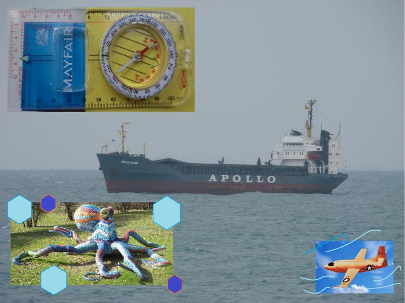 apollo ship ok compass octopus bell