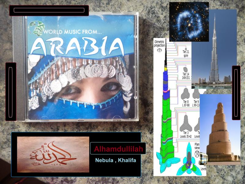 arabia music nebula