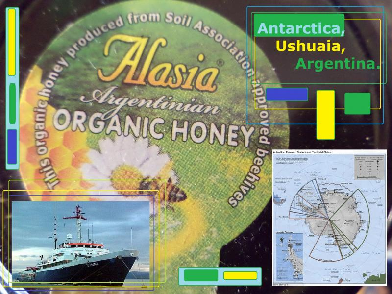 argentina honey antarctica