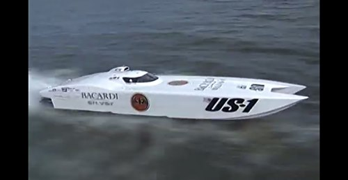 bacardi us 1 power boat