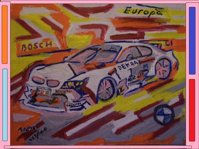 bmw dtm painting