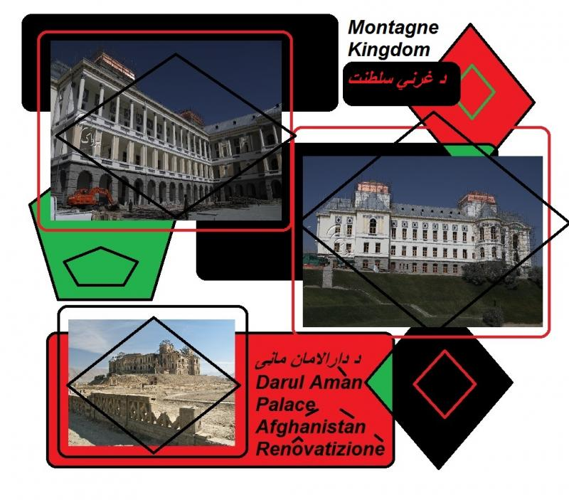 darul aman palace afghanistan renovation montagne kingdom