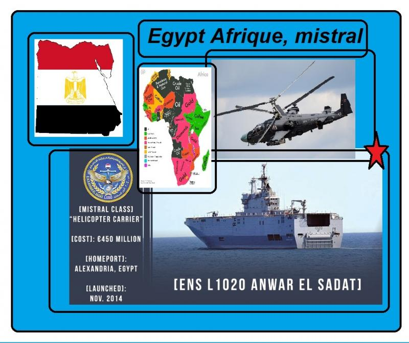 egypt alligator helicopter carrier mistral