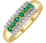 emeraLd ring 284 quid the diamond store