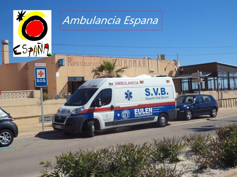 espana ambulance