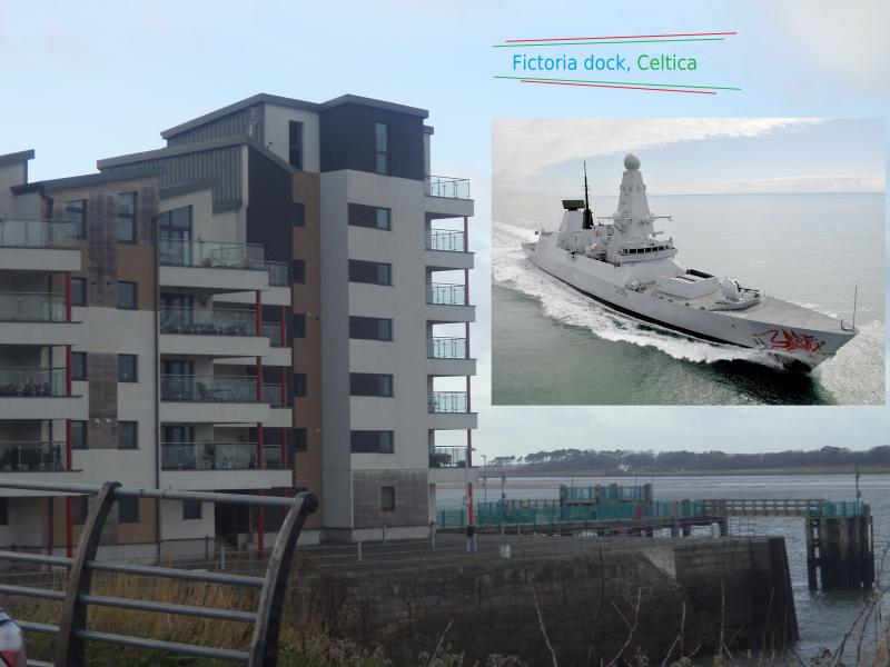 fictoria dock celtica caernerfon hms dragon