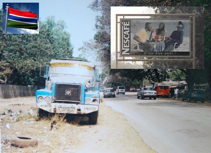 gambia truck plus nescafe crescent