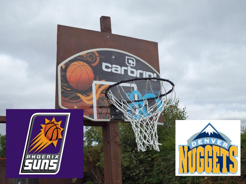 garden basketball hoop nuggets pheonix