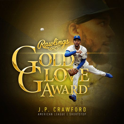 golden gLove award seattLe mariners baseball