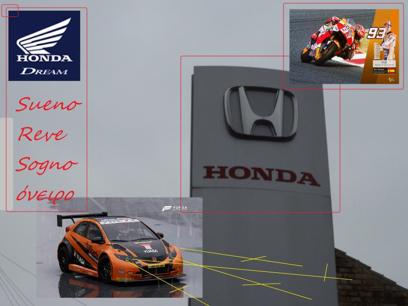 honda sign 1 dream motogp