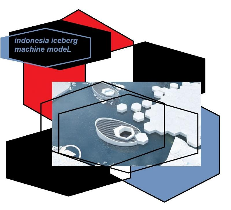 indonesia iceberg machine modeL 6