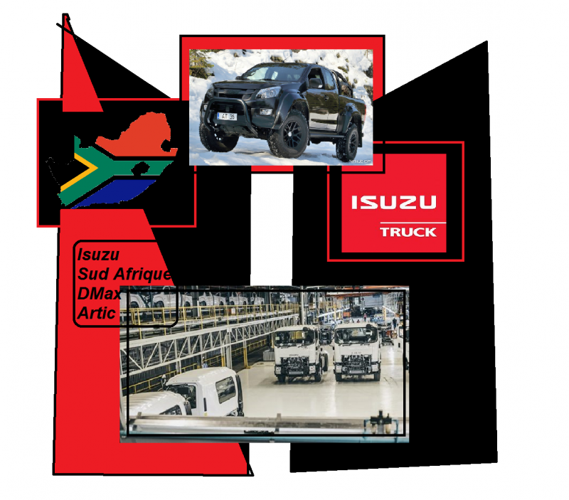 isuzu trucks sud south africa afrique dmax artic