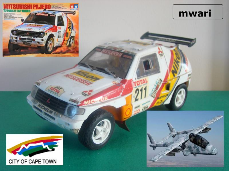kcrally models mitsubishi dakar plus ralliart box capetown