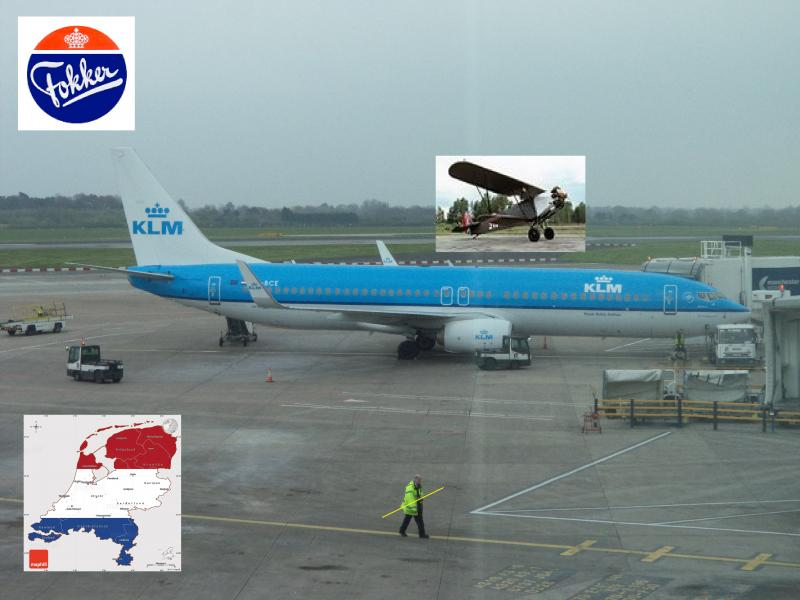 klm fokker holland