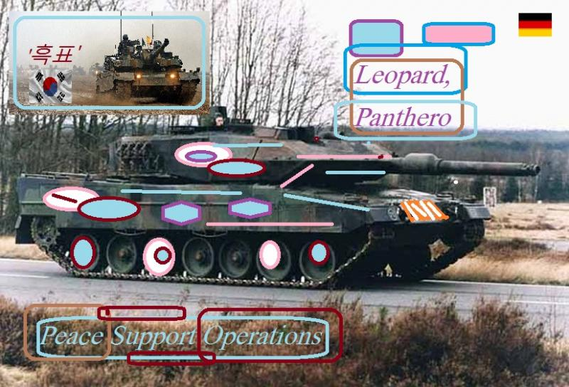 leopard2 tank peace support operations korea k2