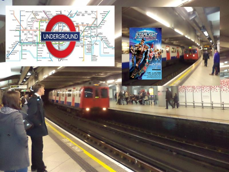 london underground plus map