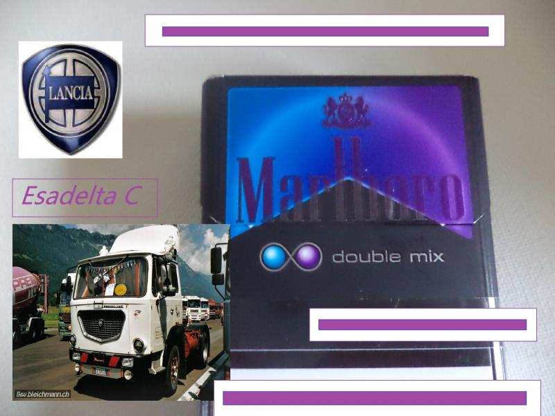 marlboro double mix lancia truck