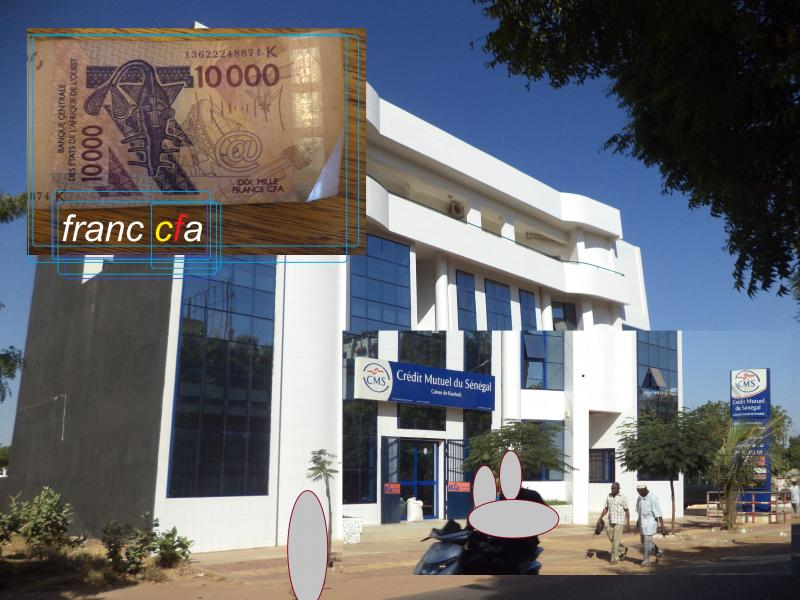 modern senegal bank building franc