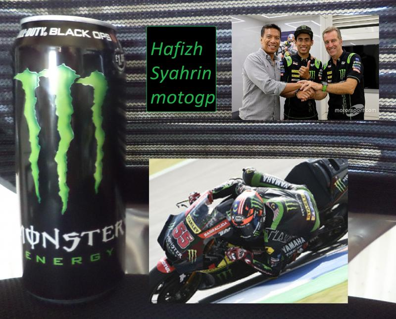 monster green Hafizh Syahrin motogp
