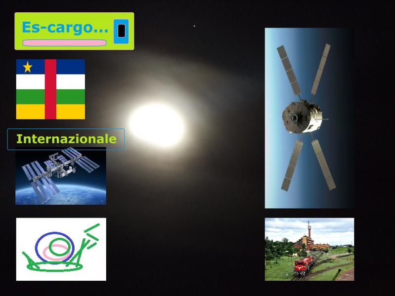 moon night escargo space station central