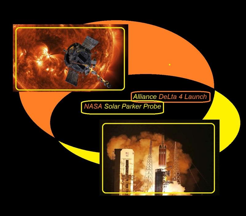 nasa solar parker probe alliance delta 4 launch
