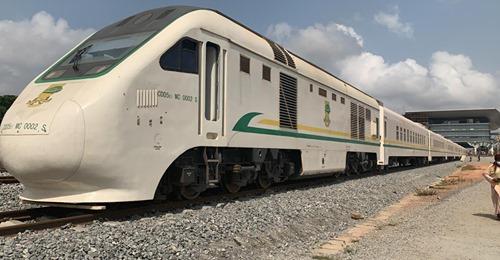 nigeria china train