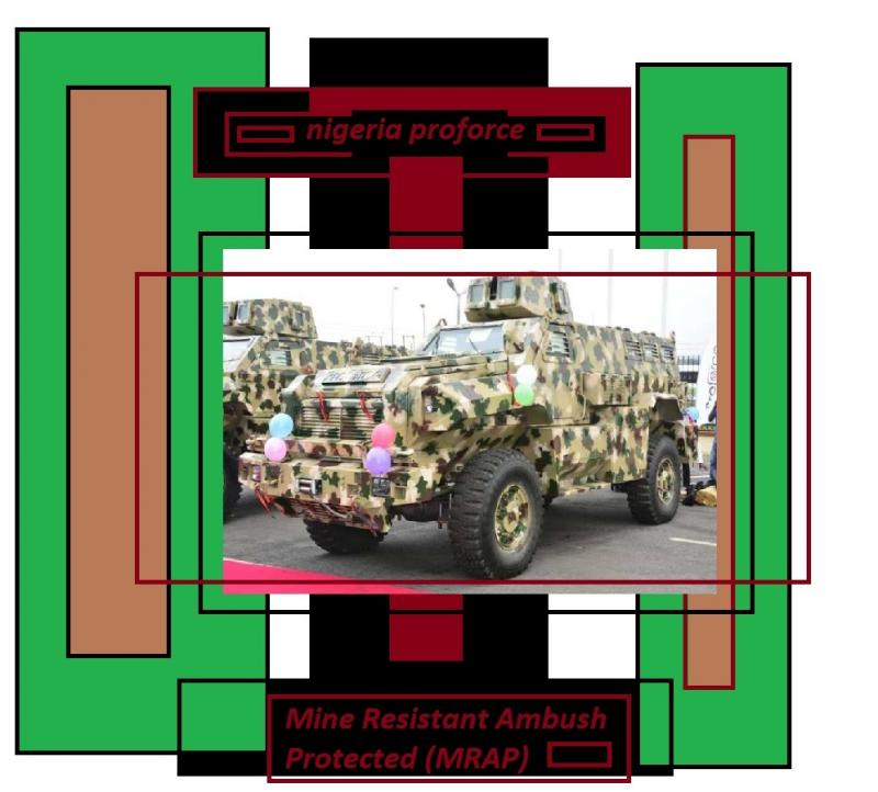 nigeria proforce Mine resistant vehicle