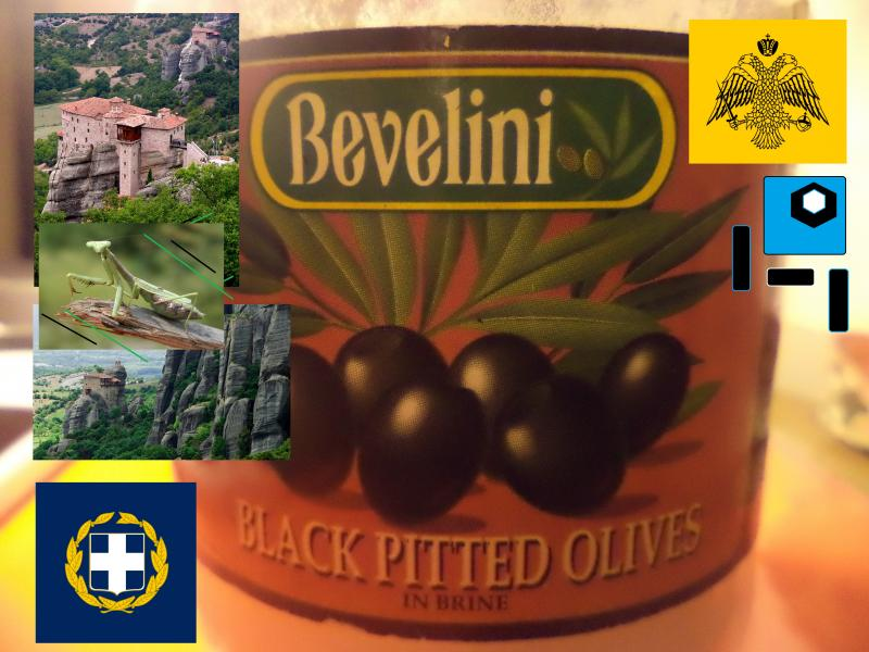 olives pitted bevelini greek
