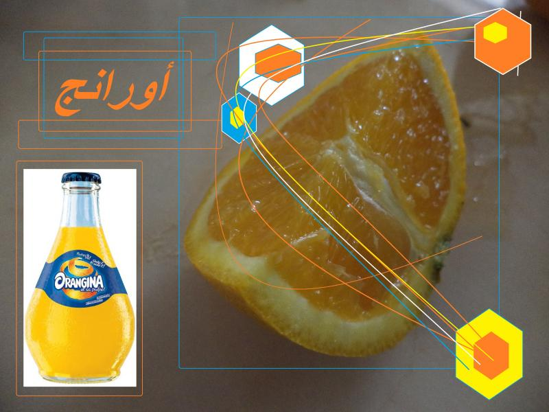 orange slice orangina