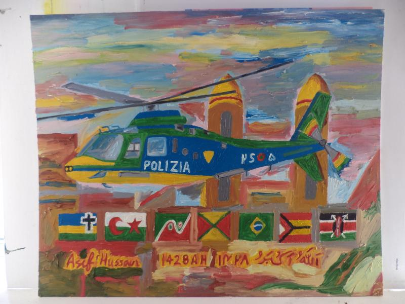 polizia helicopter cross KOOOLcr