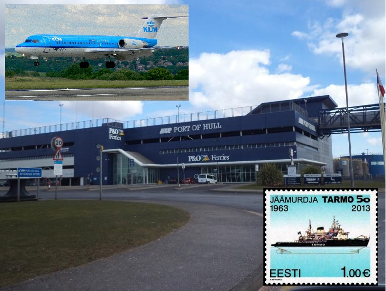 port PO Hull klm estonia